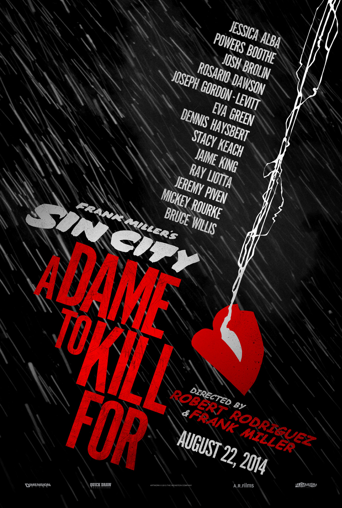"드디어 돌아왔다! ""Sin City : A Dame to Kill For"" .."