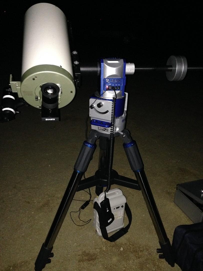 별그대 도민준이 쓰던 망원경 가대 – LX80