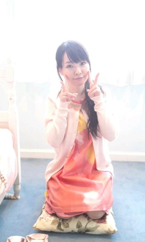 성우 이토 카나에씨가 자신의 블로그에 올린 사진