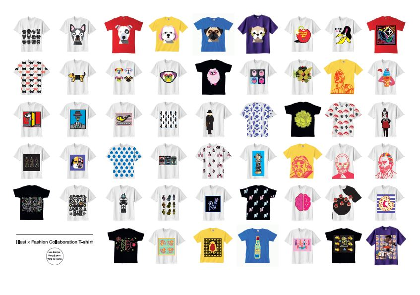 [illustration] T-shirts Graphic Design