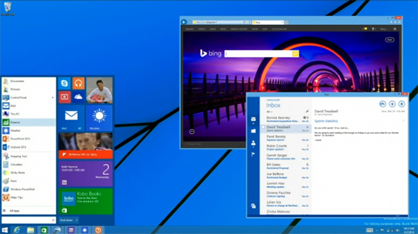MS, 윈도우8.1 차기 업데이트에서 시작 버튼 부활!