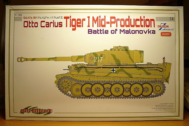 Otto Carius Tiger-I Mid 'Battle of Malonovka'..