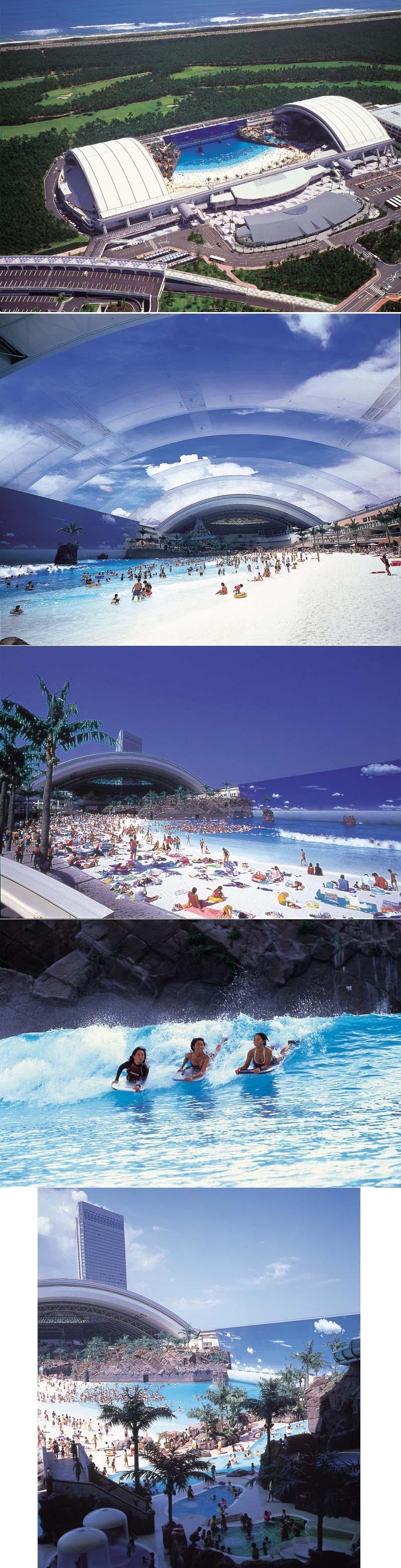 세계에서 가장 큰 수영장은 어디???