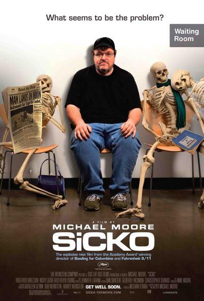 """영화 """"Sicko"""" ㅡ 미국의 건강보험 이야기"""
