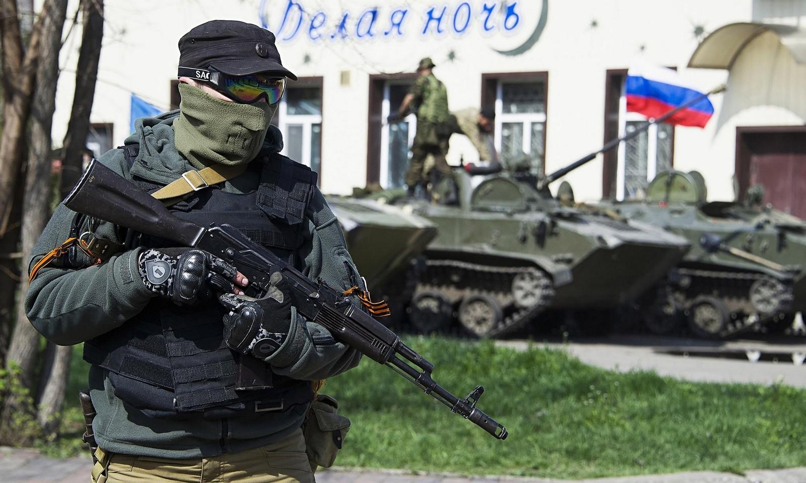 미 4성 장군: 우크라이나 동부의 무장세력은 러시아..