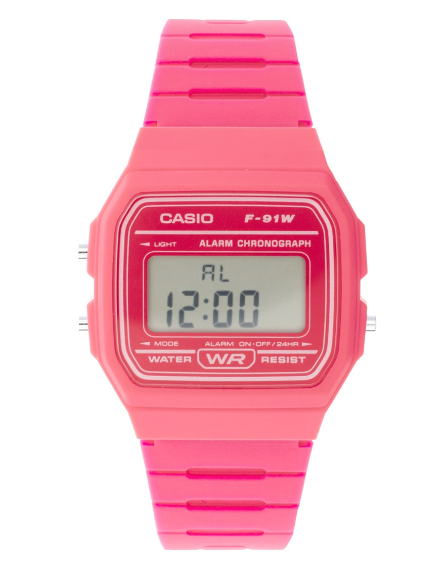 여성 악세사리(Casio F-91WC-4AEF Digital Pink..