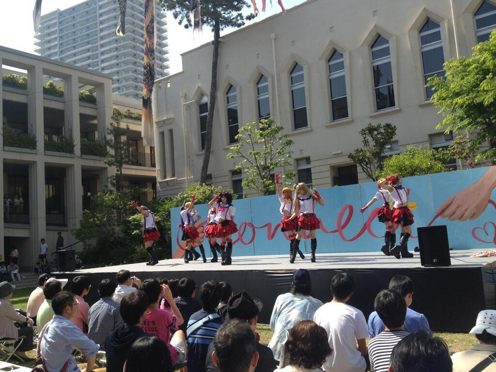 일본의 한 남자 고등학교 문화제, 러브라이브 뮤즈..