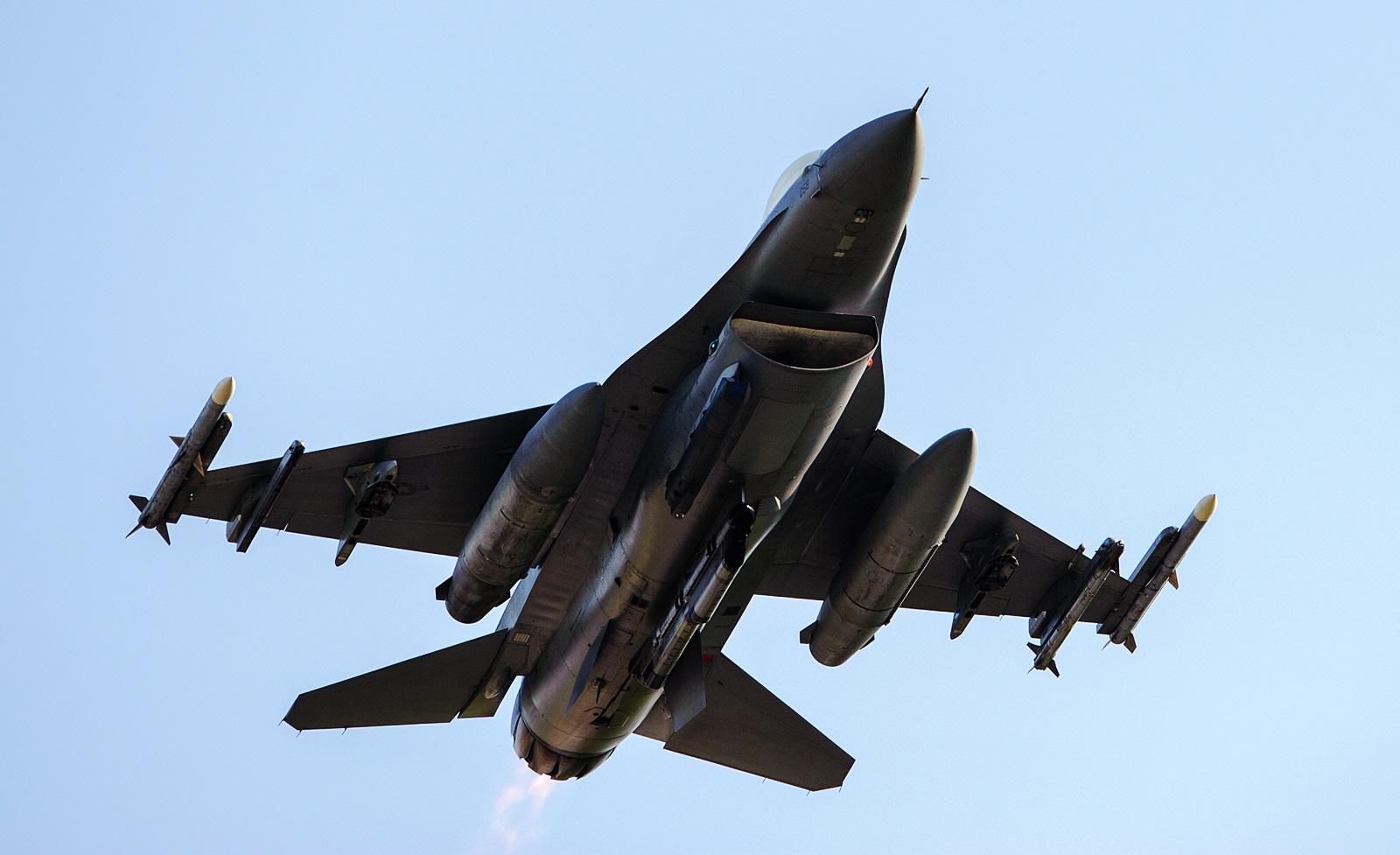 군산기지 미 공군 F-16 Beverly Bulldog 14-2 훈련
