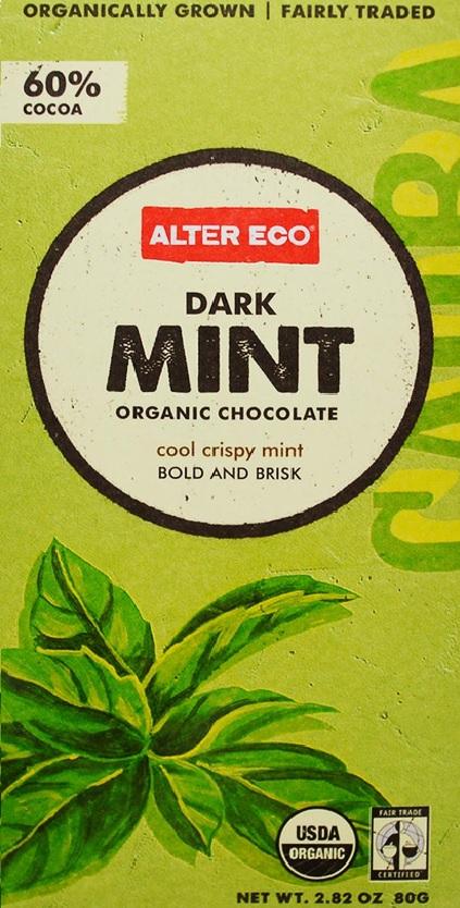 알터 에코 , 다크 민트 오가닉 초콜릿