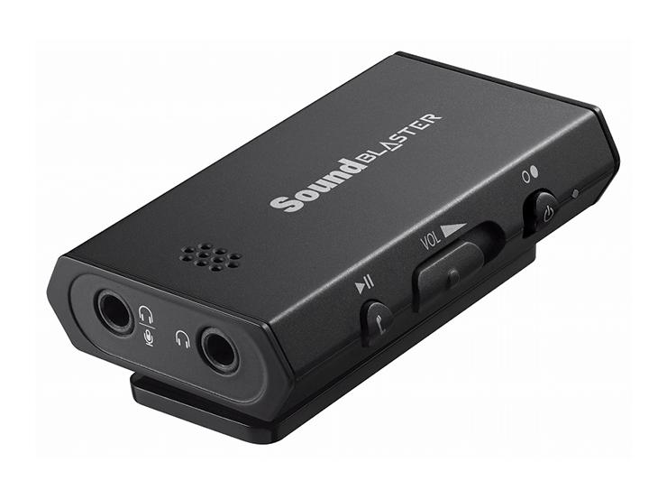 크리에이티브에서 USB 오디오 인터페이스 기계를..