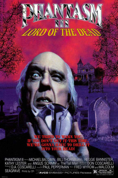 환타즘 3(Phantasm III: Lord Of The Dead, 1994)