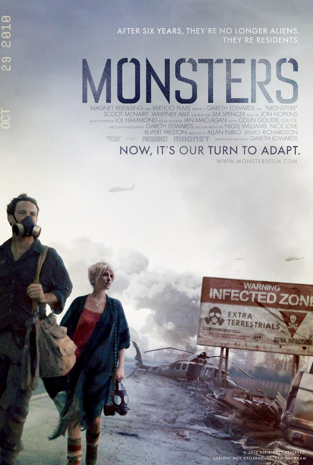 """Monsters : Dark Continent"" 예고편입니다."