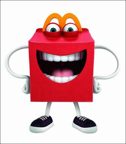 미국 맥도날드의 새로운 마스코트 캐릭터 'Happy'가 ..