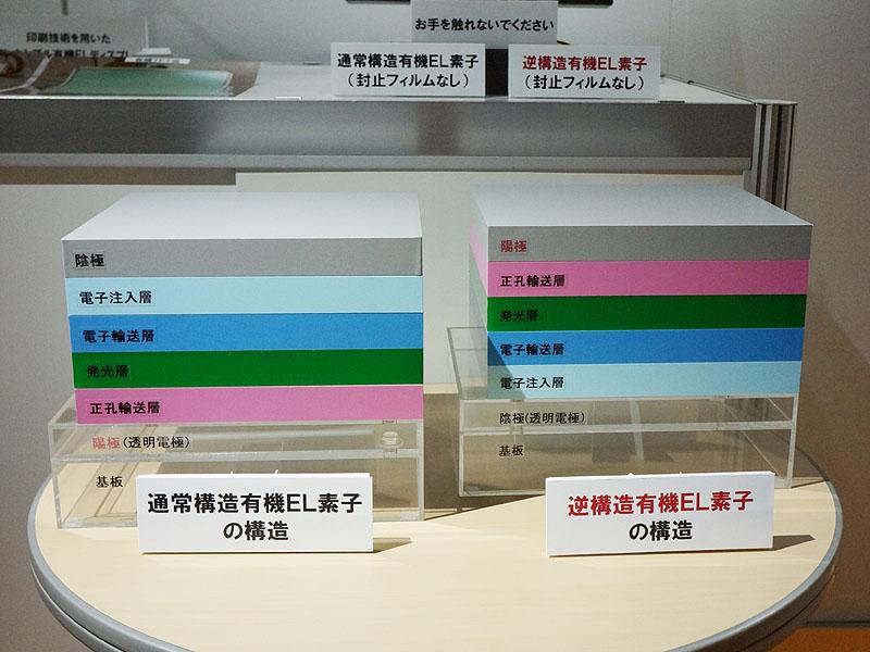 NHK, 수명을 엄청나게 늘린 OLED 전시.. 외계..