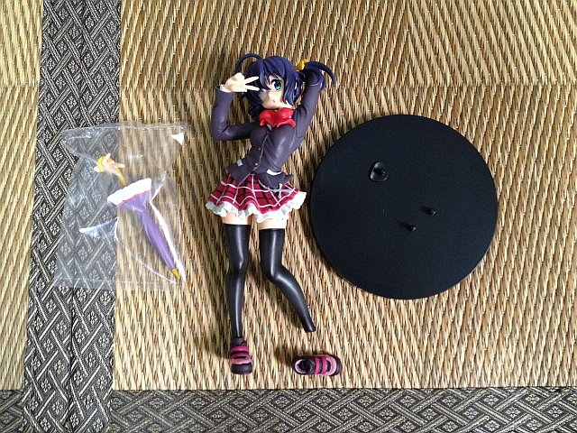 타이토의 타카나시 릿카 피규어를 샀는데....
