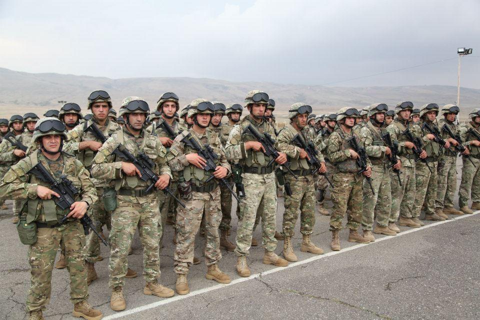 중앙아프리카공화국에 군대를 파병하는 조지아