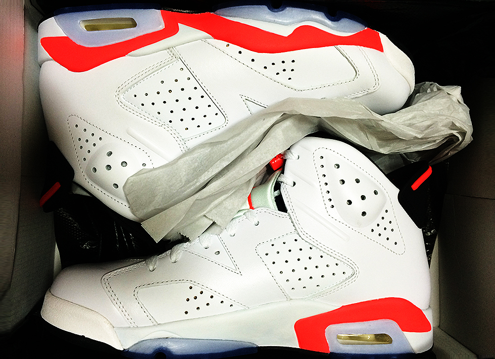 Air Jordan 6_Retro Infrared