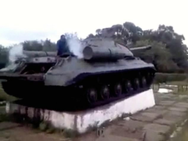 21세기에 되살아난 IS-3 스탈린 중전차