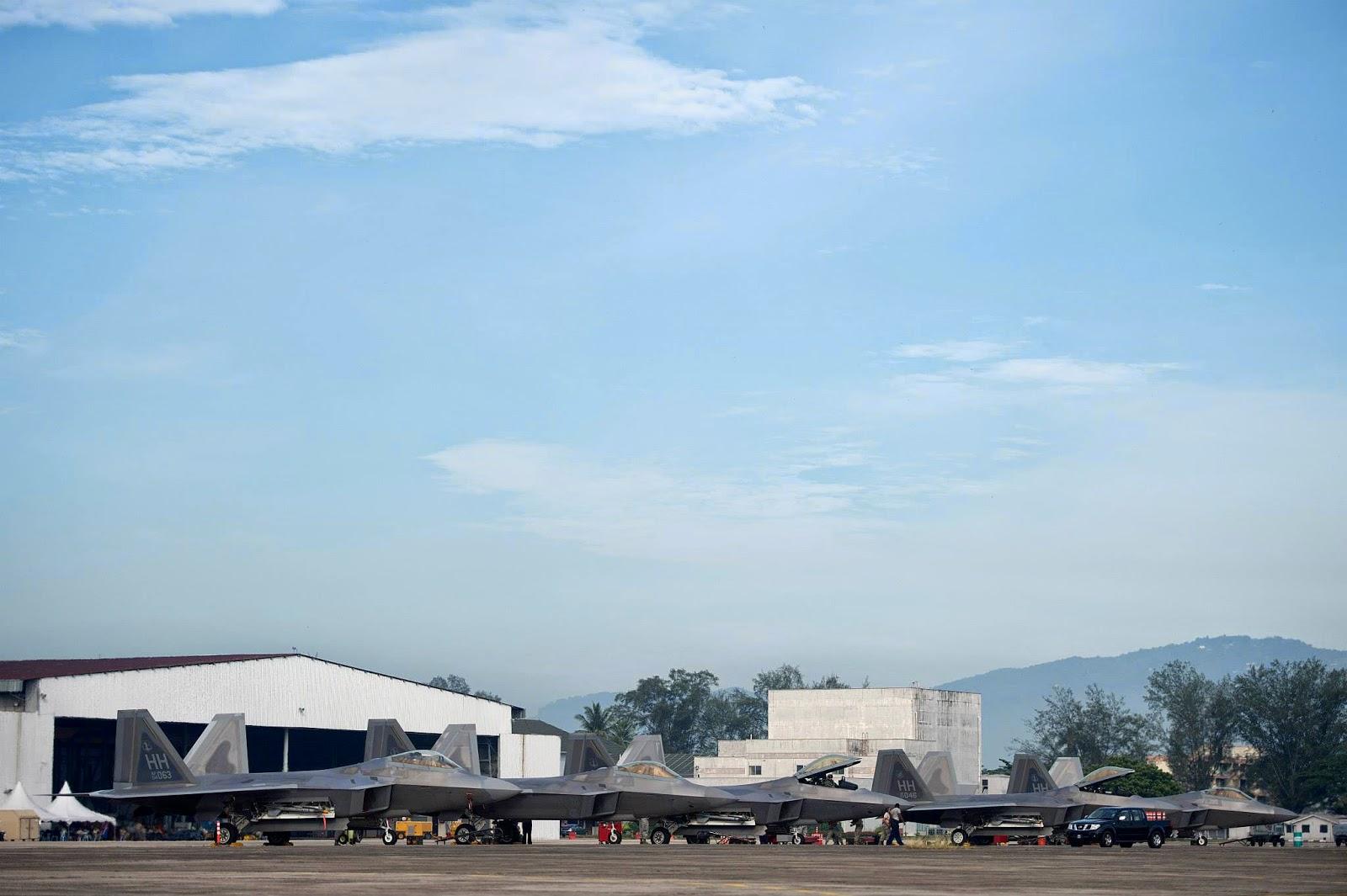 미 공군과 말레이지아 공군 합동훈련 Cope Taufan ..