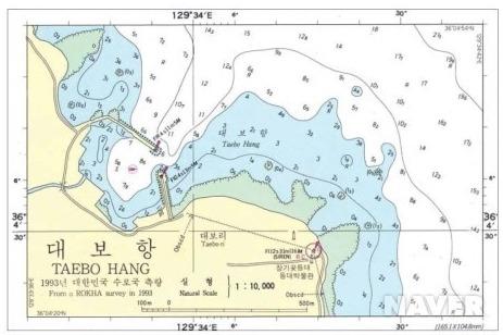 [지문항해학]해도도식에 대하여