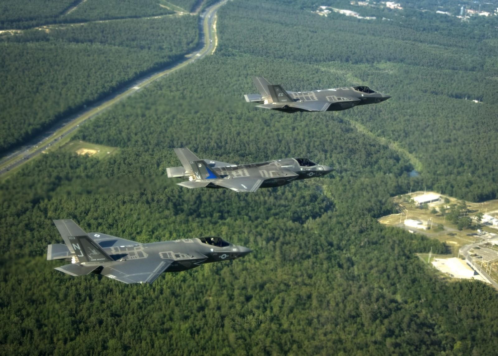 F-35 전투기 전체를 비행 중단시킨 미 국방성