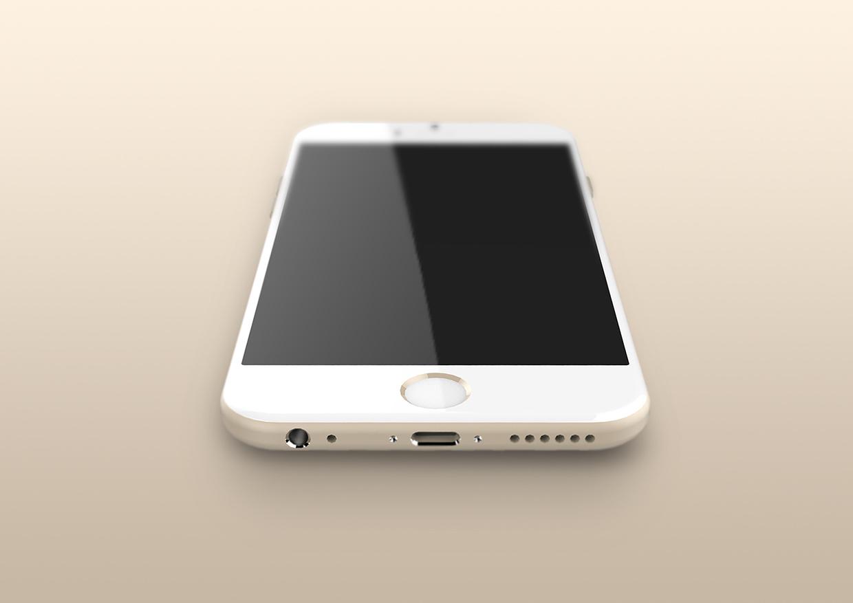 아이폰6의 예상 랜더링 이미지도 돌고 있습니다.