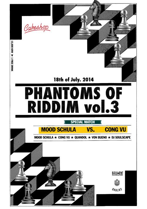 Phantoms of Riddim Vol.3
