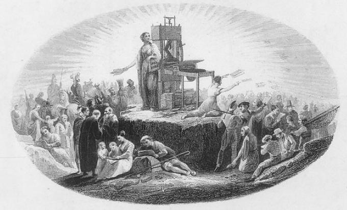 미국 개신교의 시각적 실천