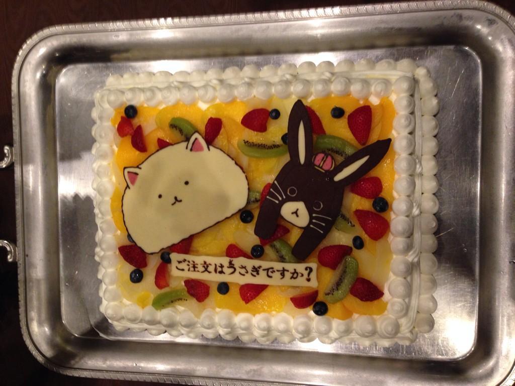 7월말에 '주문은 토끼입니까' 뒤풀이 파티가 있었나..
