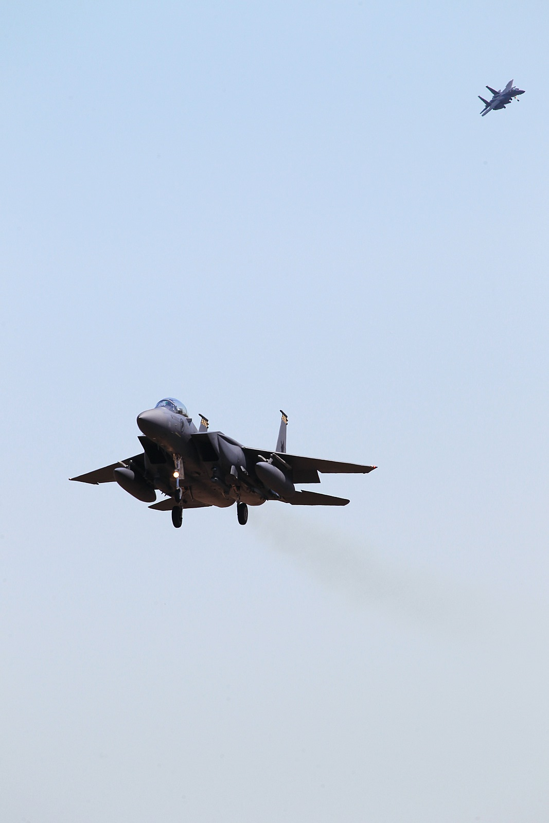 Pitch Black 14 참가 싱가폴공군 F-15SG 등
