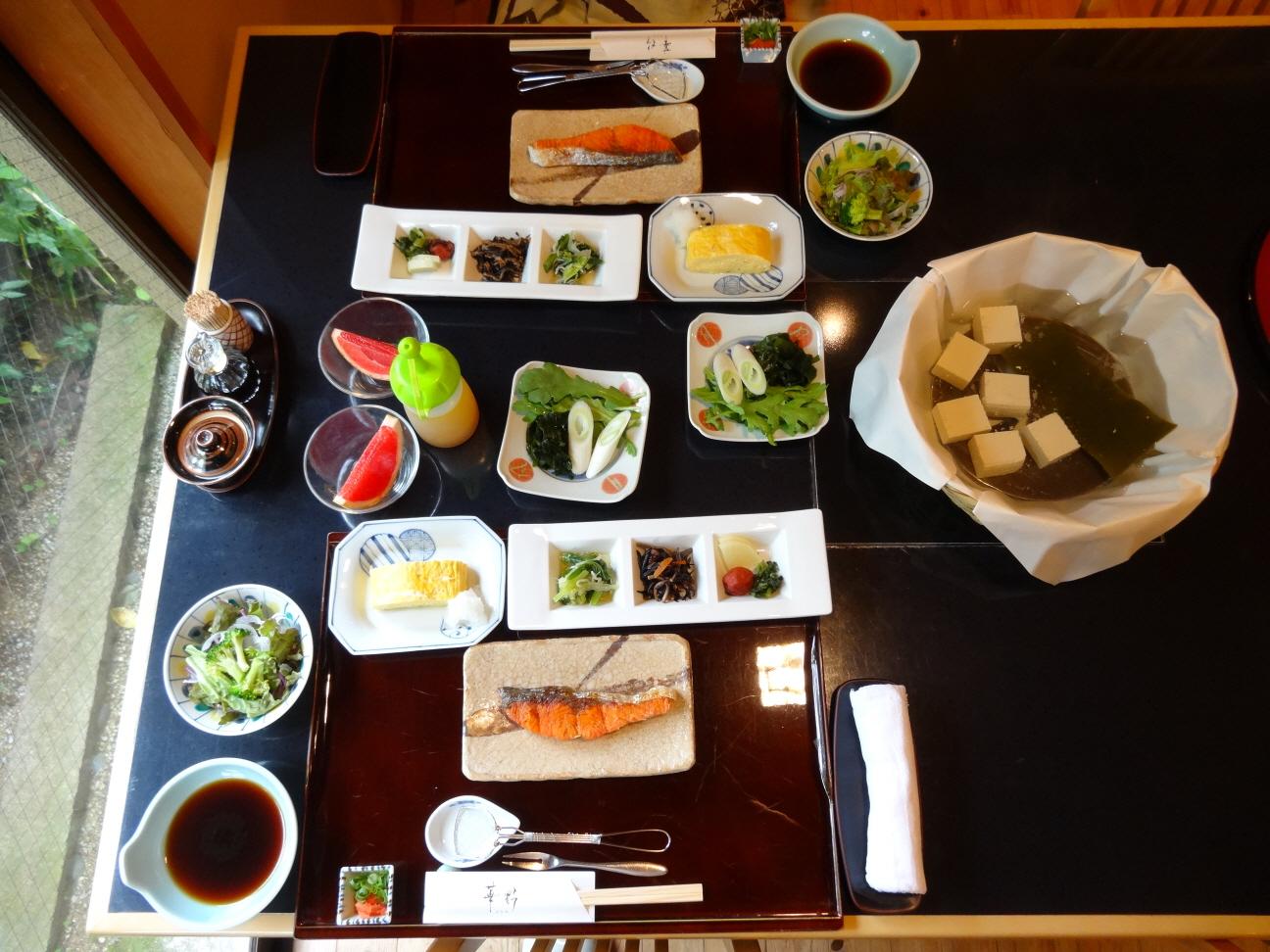 [일본 - 아리마] 료칸식사 #02