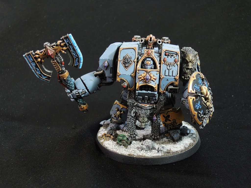 Space-Wolves Venerable Dreadnought