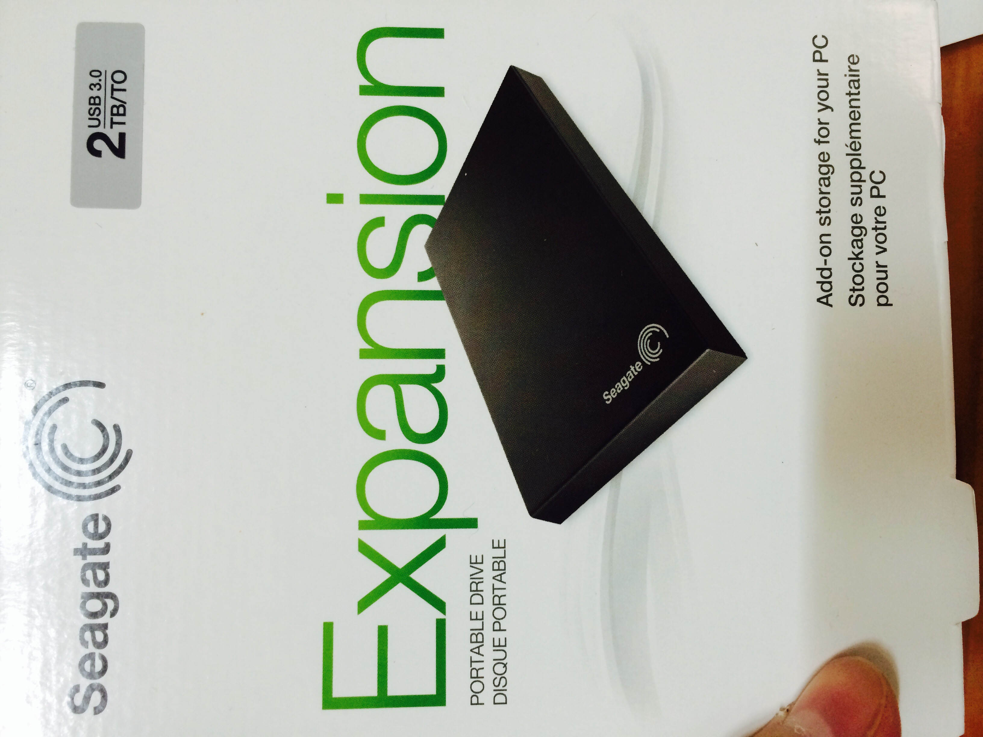 Seagate Expansion STBX2000401 2TB USB 3.0 Po..