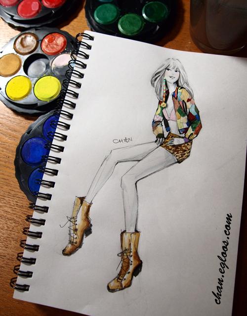 제레미 스캇 X 마일리 사이러스  2015 봄 컬렉션