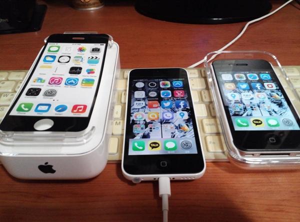 iPhone 5C 구입기.