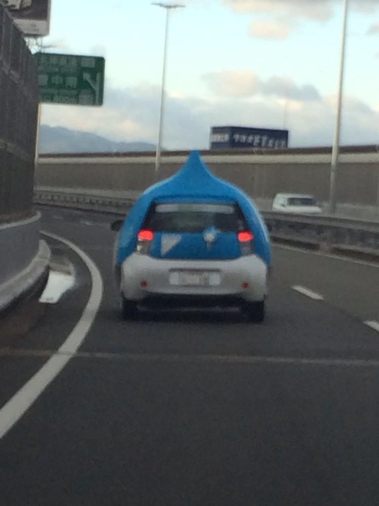 일본쪽 트위터에 올라온 '슬라임 자동차' 사진이 화제