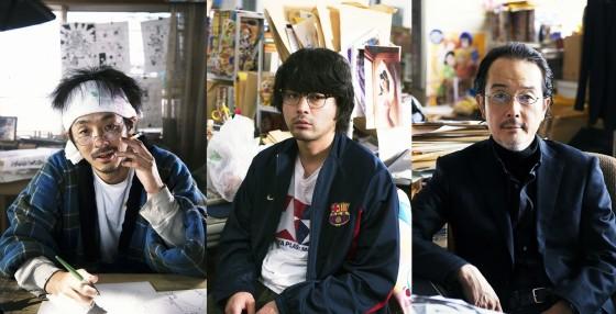 2015년에 공개될 예정인 '바쿠만' 실사 영화 추가 캐..