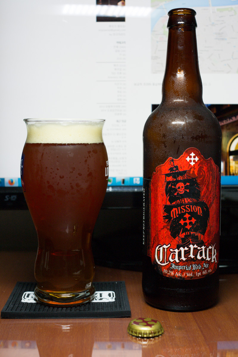 Mission Carrack Imperial Red Ale