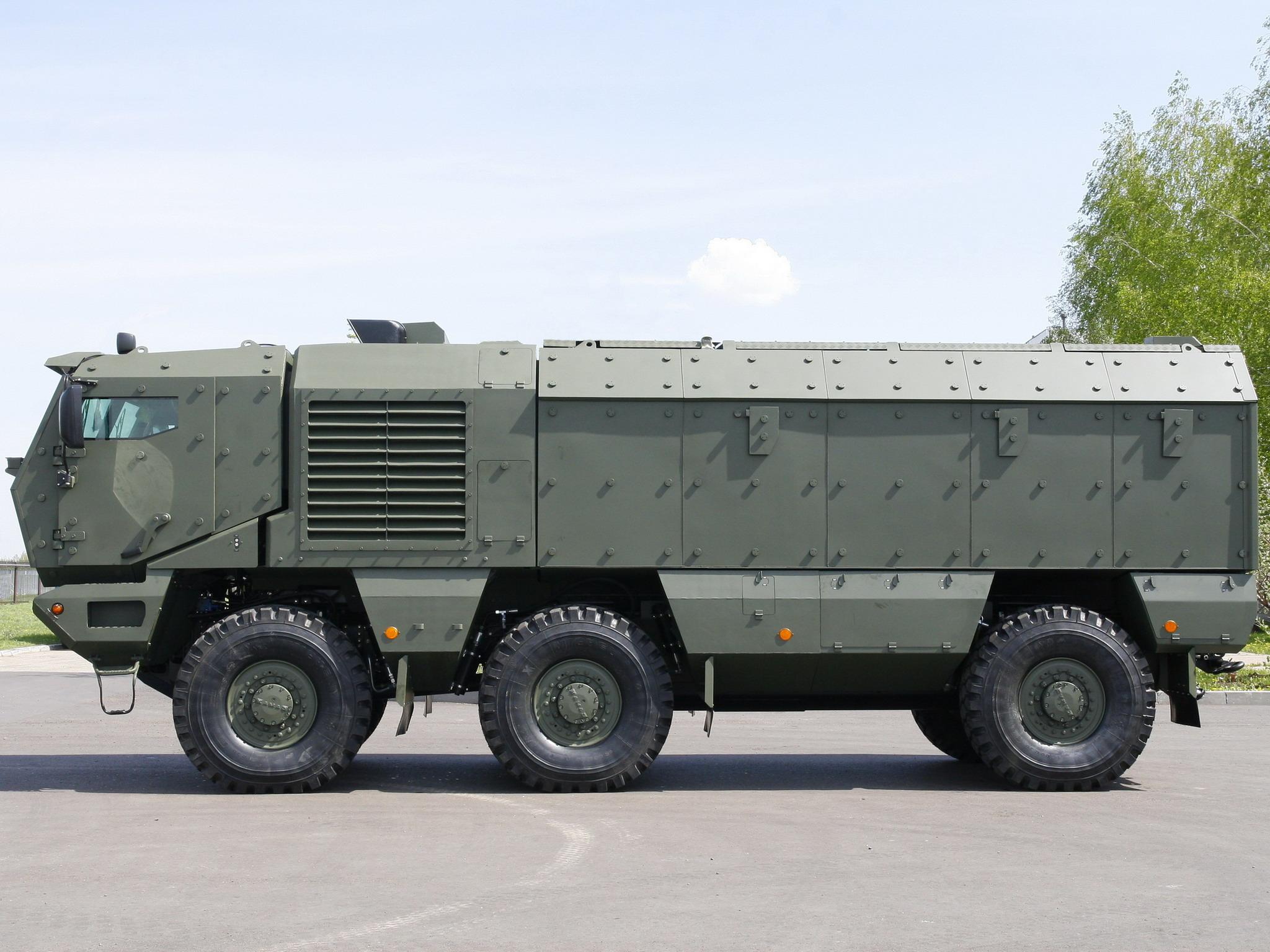 러시아 KAMAZ-63968 Typhoon 장갑트럭