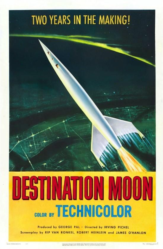 데스티네이션 문 / Destination Moon (1950년)