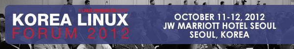 제 1회 한국 리눅스 포럼 Korea Linux Forum (201..