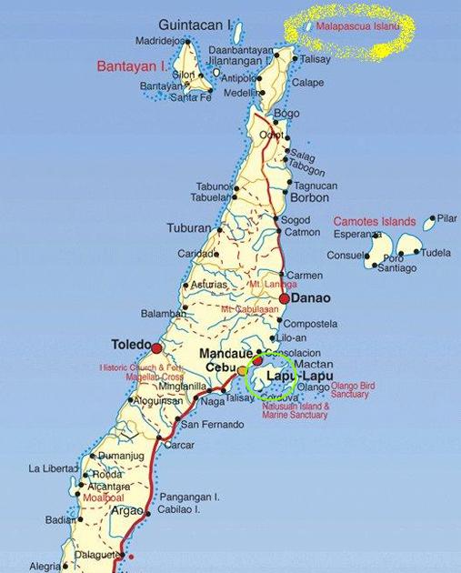 3년만에 다시 찾은 세부의 아름다운 섬, 말라파스쿠아