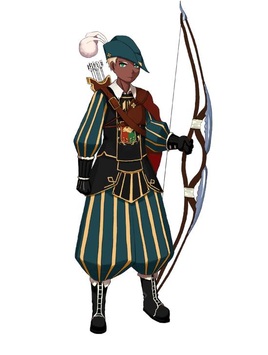 [Character 004] 왕실궁병