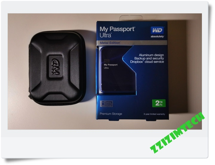 WD 10주년 한정모델 WD My Passport Metal 2TB..