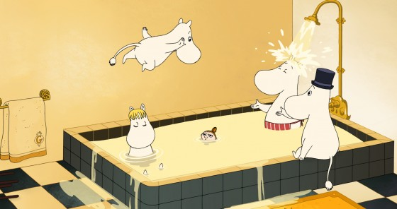 핀란드와 프랑스의 합작 애니메이션 영화 '극장판 무..