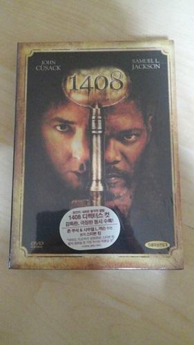 """""""1408"""" 2디스크 DVD를 구했습니다."""