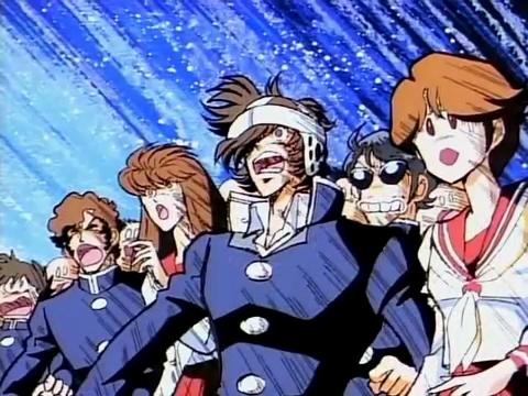 불꽃 전학생 OVA 1화에서