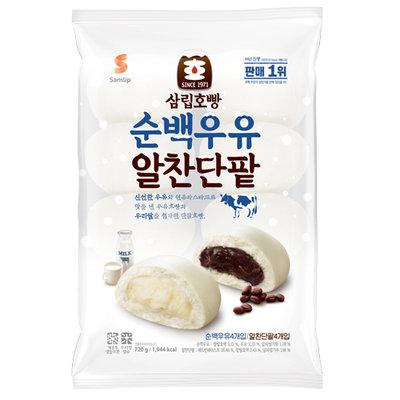 순백우유 호빵 (삼립)
