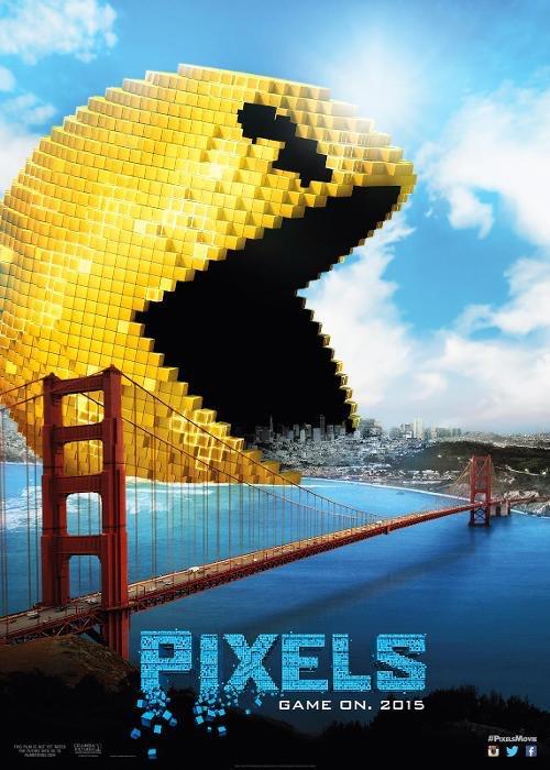 """아케이드 게임으로 외계인과 대결하는 영화, """"Pixels.."""