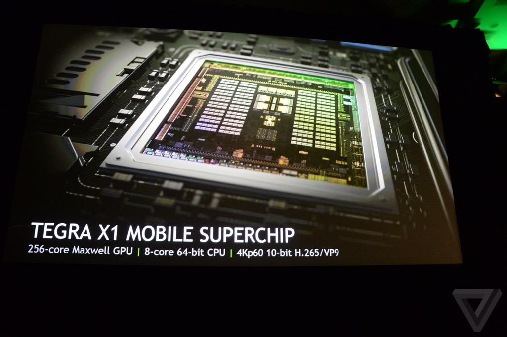엔비디아, 테그라 X1 슈퍼칩 발표